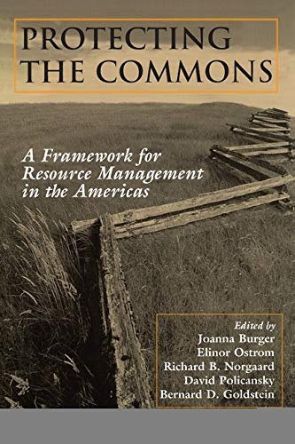 9781559637374: Protecting the Commons: A Framework For Resource Management In The Americas