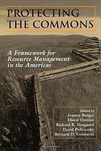 9781559637381: Protecting the Commons: A Framework For Resource Management In The Americas