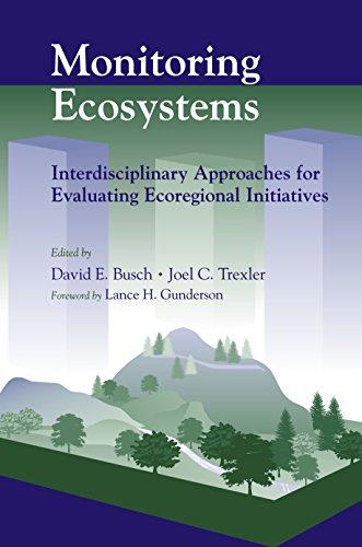 9781559638517: Monitoring Ecosystems: Interdisciplinary Approaches for Evaluating Ecoregional Initiatives
