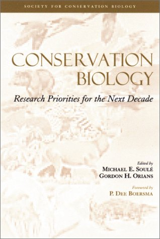 9781559638692: Conservation Biology: Research Priorities for the Next Decade