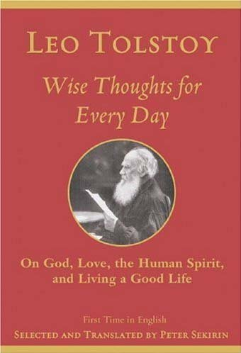 9781559707862: Wise Thoughts for Every Day: On God, Love, Spirit, and Living a Good Life