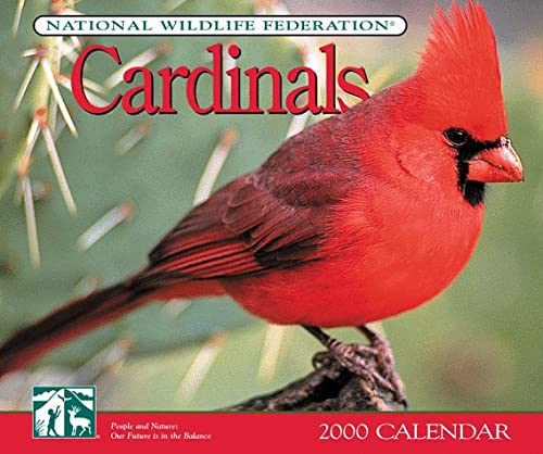 Cardinals Calendar (155971686X) by National Wildlife Federation