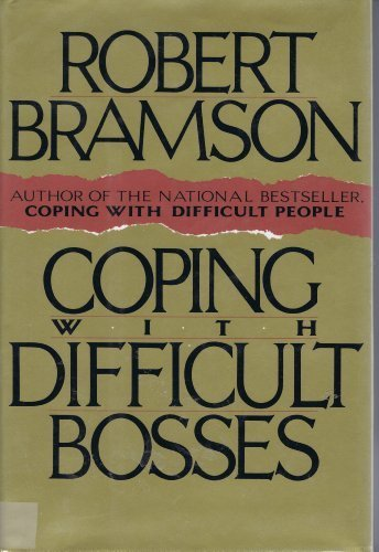 9781559721394: Coping With Difficult Bosses