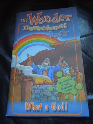 9781559761185: The Wonder Devotional Book (What A God - Two months of daily devotionals)