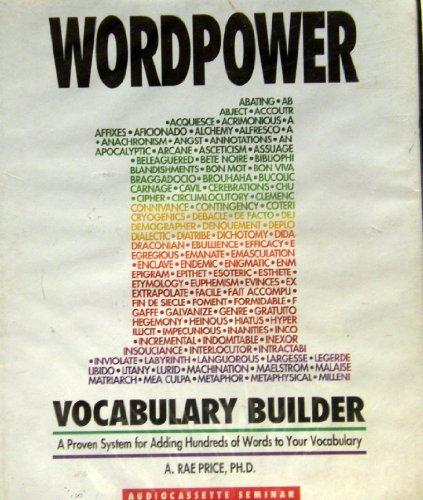 9781559770774: WordPower (Audio Book)