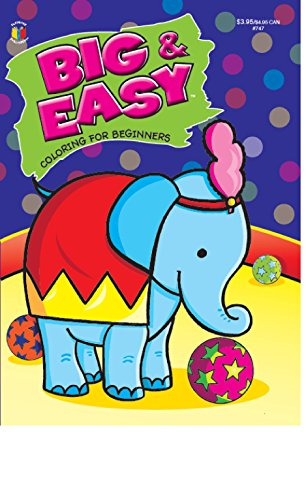 9781559930093: Big & Easy Coloring for Beginners