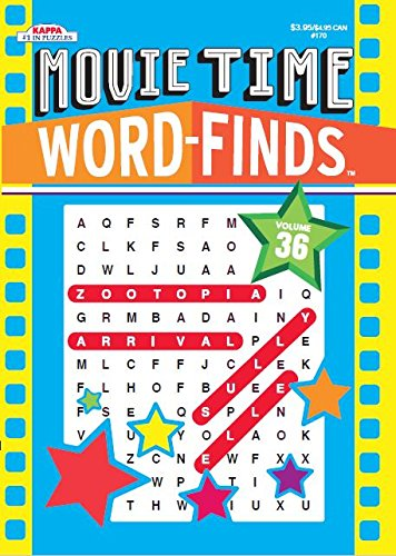 9781559930925: Movie Time Word-Finds Puzzle Book-Word Search Volume 36