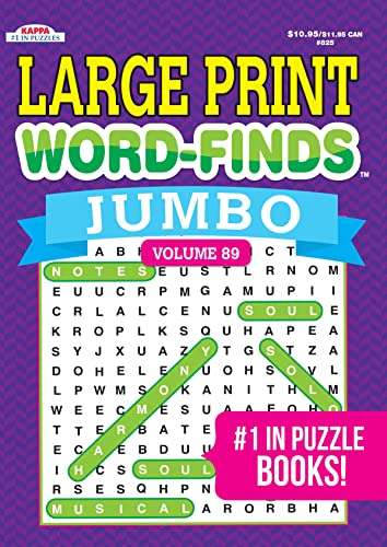9781559931007: Large Print Word-Finds JUMBO Puzzle Book - Volume 59