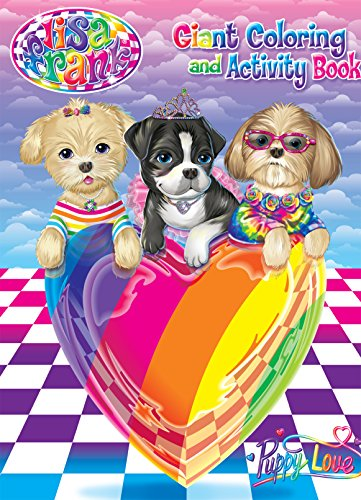 9781559931250: Lisa Frank Coloring & Activity Book - Puppy Love