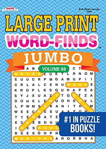 9781559931441: Jumbo Large Print Word-Finds Puzzle Book - Volume 58