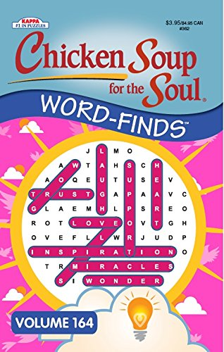 9781559931502: Chicken Soup for the Soul Word-Finds Puzzle Book - Volume 164