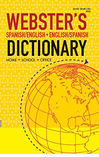 Websters Spanish/English Dictionary (English and Spanish Edition): Kappa Books Publishers