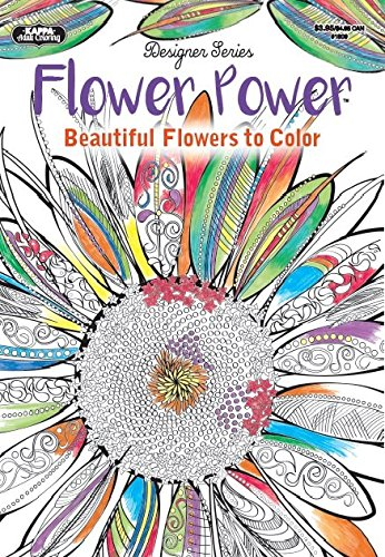 9781559931687: Adult Coloring - Designer Series - Flower Power