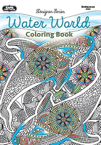 9781559931724: Adult Coloring - Designer Series - Water World