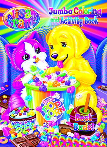 9781559931748: Lisa Frank Jumbo Coloring & Activity Book - Food Frenzy Fun