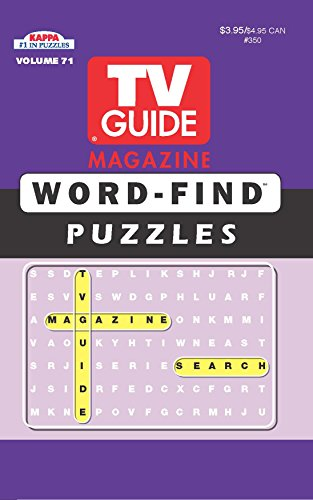 TV Guide Word Find Puzzle Book-Word Search Volume 71: Kappa Books Publishers