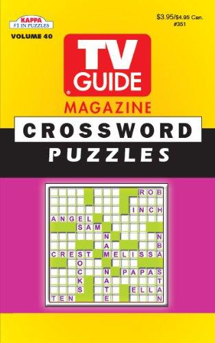 9781559934473: TV Guide Crossword Puzzle Book-Vol.40