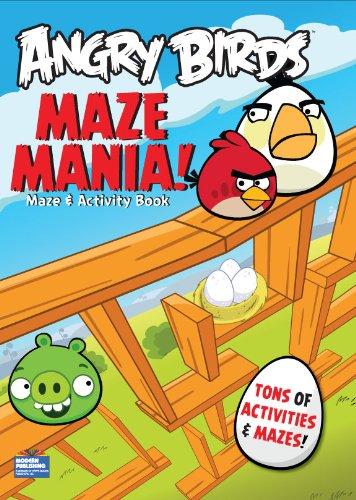 9781559934541: Angry Birds Mazes-Maze Mania