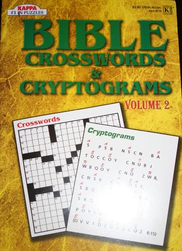 9781559934947: Bible Crosswords and Cryptograms (Volume 2)