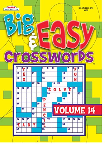 9781559935760: Big & Easy Crosswords Volume 14