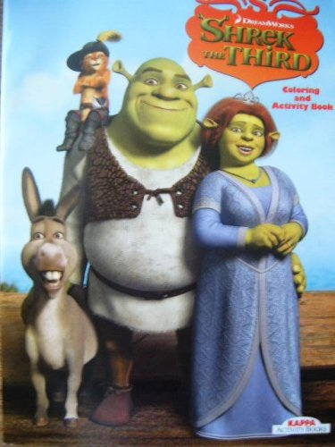 9781559937153: Shrek the Third Coloring and Activity Book #1 (Shrek the Third)