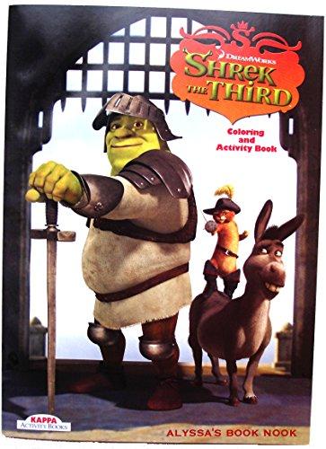 Shrek the Third Coloring and Activity Book #2 (Shrek the Third): Dreamworks
