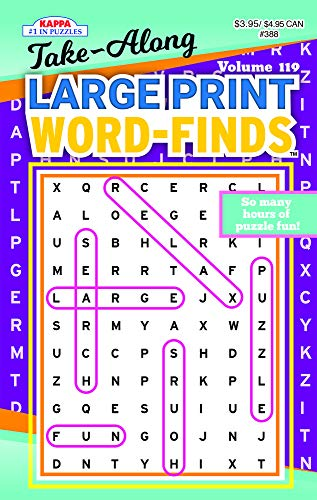 image relating to Large Printable Word Search called 9781559939232: Consider-Together Substantial Print Term Come across Puzzle Reserve
