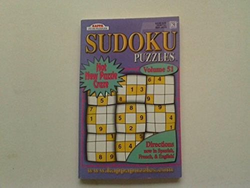 9781559939355: Kappa Sudoku Puzzles #375, Vol. 51