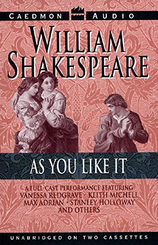As You Like It: Shakespeare, William;Redgrave, Vanessa;Michell, Keith