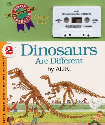 9781559942447: Dinosaurs Are Different Book and Tape (Let's-Read-and-Find-Out Science 2)