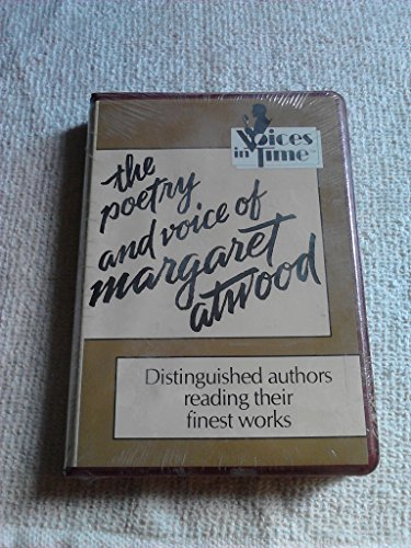 The Poetry and Voice of Margaret Atwood (1559944056) by Margaret Eleanor Atwood