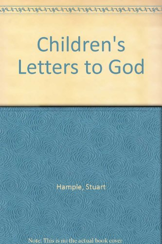 Children's Letters to God (1559947756) by Hample, Stuart; Marshall, Eric