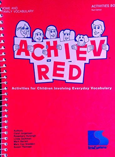 ACHIEV-Red Books (Activities for Children Involving Everyday: Mark Barrett; Linda