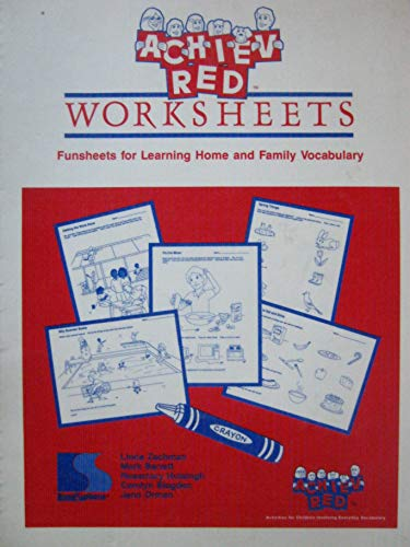 ACHIEV-Red worksheets: Funsheets for learning home and: Zachman, Linda