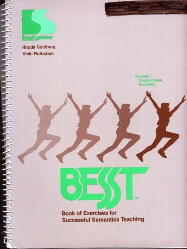 9781559990219: Best Book of Exercises for Successful Semantics Teaching