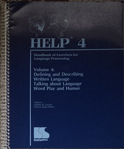 9781559990486: Help Four (Handbook of Exercises for Language Processing)