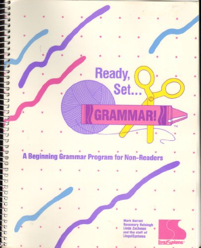 9781559990677: Ready, Set, Grammar!: A Beginning Grammar Program for Non-Readers