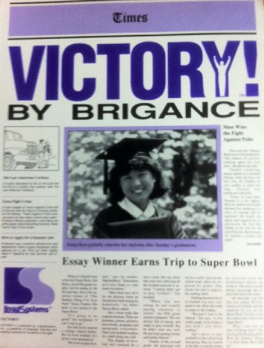 Times VICTORY by Brigance (A Complete, Contemporary: Dr. Albert H.