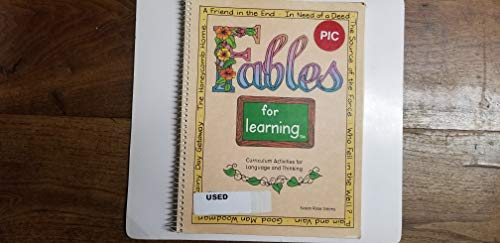 9781559992169: Fables for learning