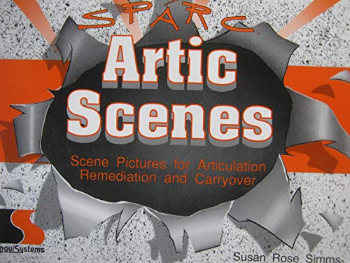 9781559994019: SPARC Artic Scenes: Scene Pictures for Articulation Remediation and Carryover