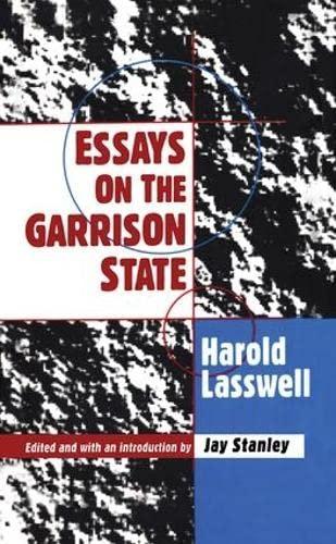 9781560002680: Essays on the Garrison State