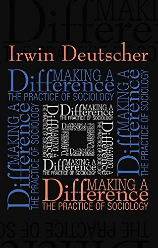 9781560003595: Making a Difference: The Practice of Sociology