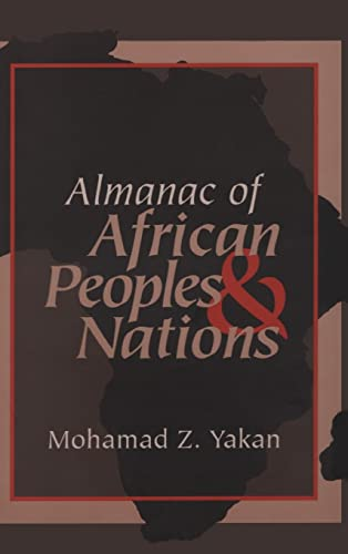 9781560004332: Almanac of African Peoples and Nations