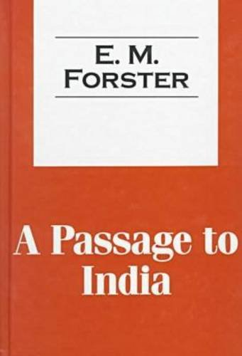9781560005070: A Passage to India (Transaction Large Print Books)