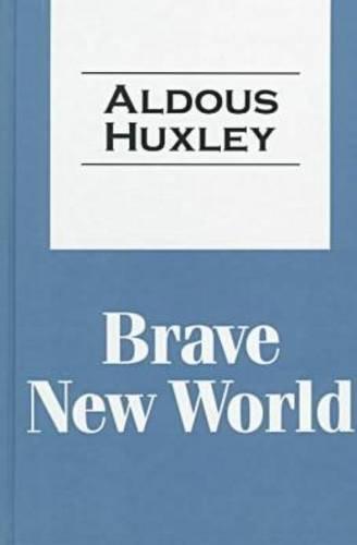 9781560005223: Brave New World (Transaction Large Print)