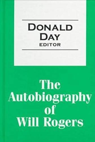 9781560005261: The Autobiography of Will Rogers (Transaction Large Print)
