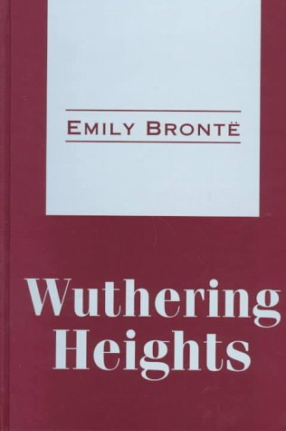 Wuthering Heights (Transaction Large Print Books): Bronte, Emily