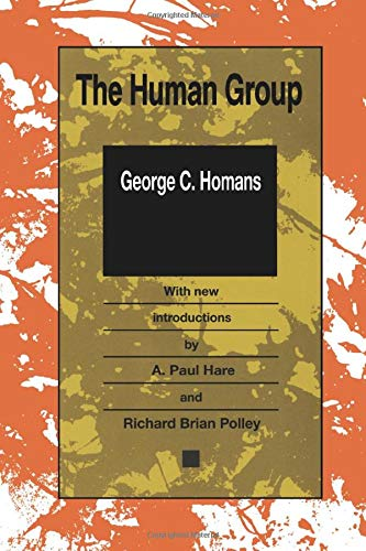 9781560005728: Human Group (Paper) (Classics in Organization and Management)