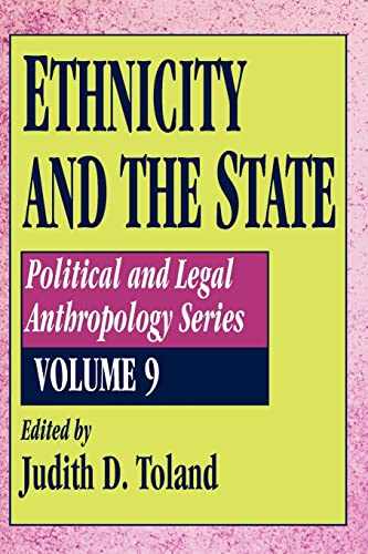 9781560006176: Ethnicity and the State (History of Ideas (Transaction Publisher))