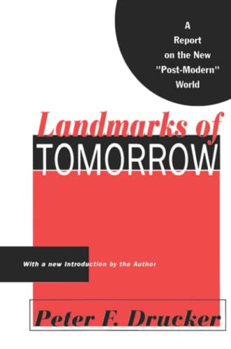 9781560006220: Landmarks of Tomorrow: A Report on the New Post Modern World